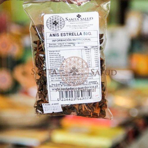 Anís Estrella 50 g. - Santasalud.cl