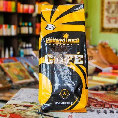 Café Puerto Rico 500 g. - Santasalud.cl
