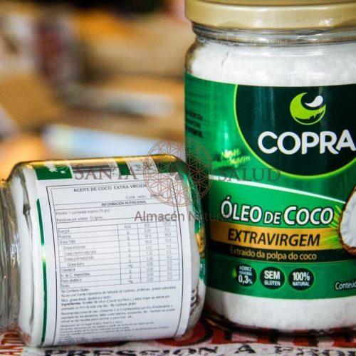 """Aceite de Coco """"Copra"""" 500 ml. - Santasalud.cl"""