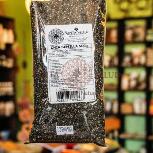 Chía Semillas 500 g. - Santasalud.cl