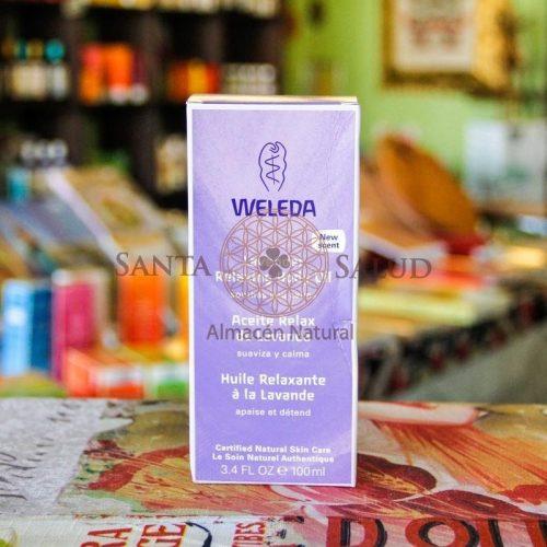 """Aceite Relax de Lavanda """"Weleda"""" - Santasalud.cl"""