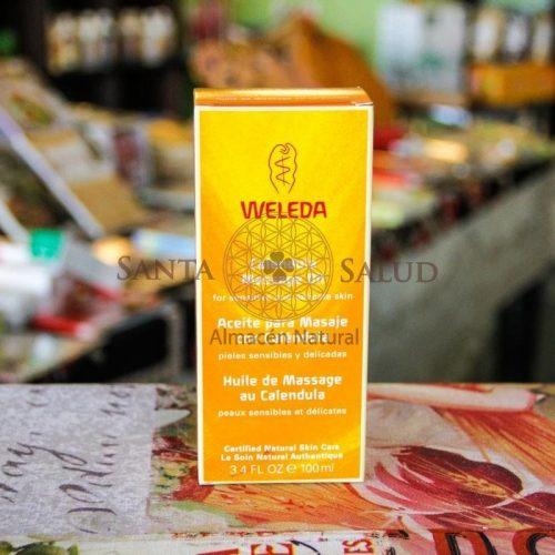 """Aceite Para Masaje con Caléndula """"Weleda"""" - Santasalud.cl"""