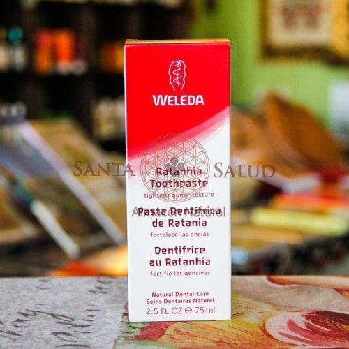 """Pasta Dentrífica de Ratania """"Weleda"""" - Santasalud.cl"""