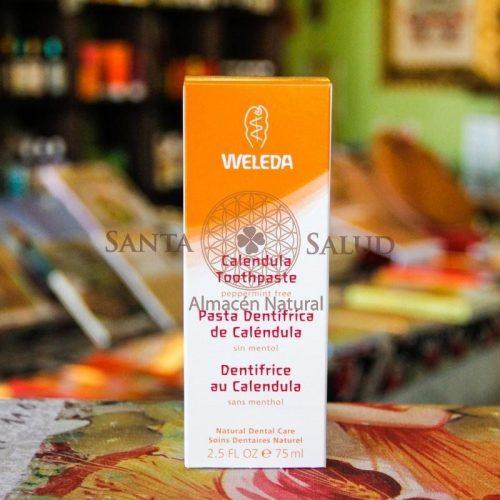 "Pasta Dentrífica de Caléndula ""Weleda"" - Santasalud.cl"