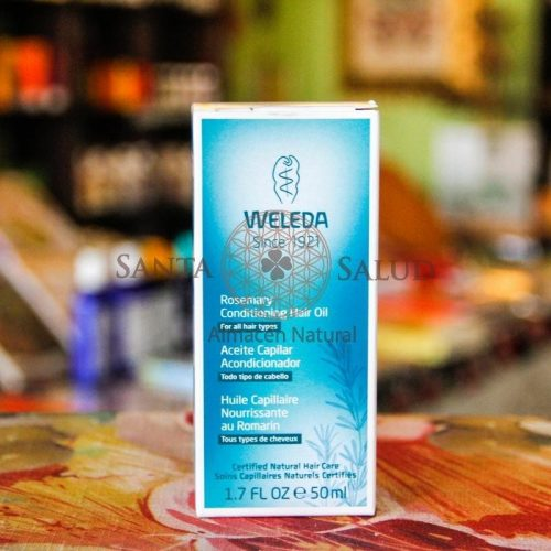 """Aceite Capilar Acondicionador """"Weleda"""" - Santasalud.cl"""