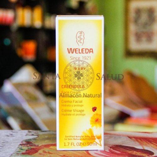 """Crema Facial de Caléndula """"Weleda"""" - Santasalud.cl"""