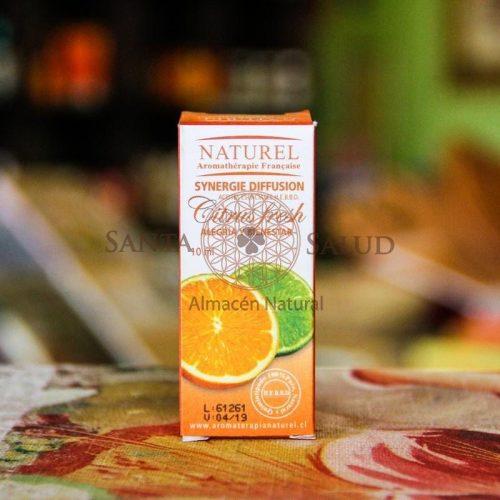 """Sinergia Citrus Fresh """"Naturel"""" - Santasalud.cl"""