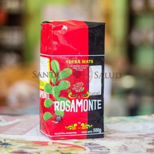 Yerba Mate Rosamonte 500 g. - Santasalud.cl