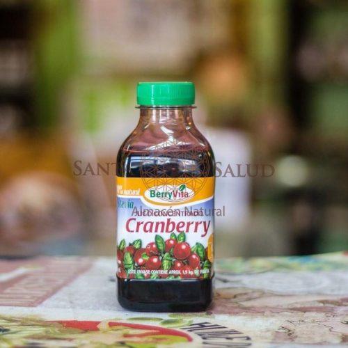 """Concentrado de Cranberry """"Berryvita"""" con Maqui y con Estevia - Santasalud.cl"""