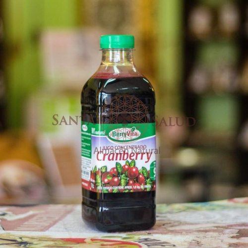 """Concentrado de Cranberry """"Berryvita"""" con Azúcar - Santasalud.cl"""