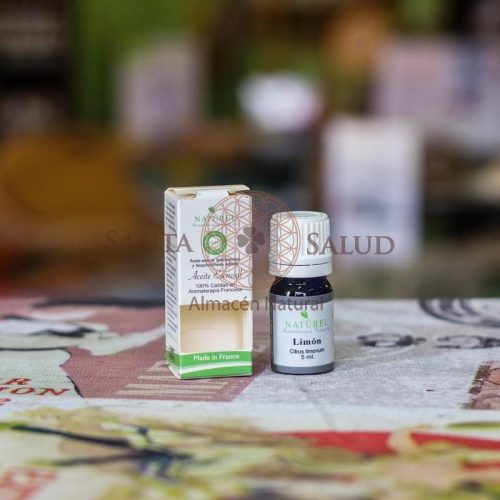 """Aceite Escencial Limón Orgánico """"Naturel"""" - Santasalud.cl"""