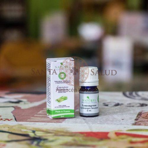 "Aceite Esencial Lemongrass Orgánico ""Naturel"" - Santasalud.cl"
