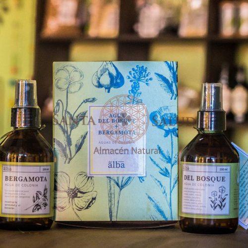Pack de 2 Aguas de Colonia:  Oleo del Bosque y Padme - Santasalud.cl