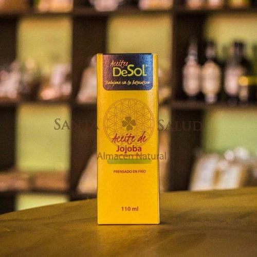 """Aceite de Jojoba """"De Sol"""" 110 ml. - Santasalud.cl"""