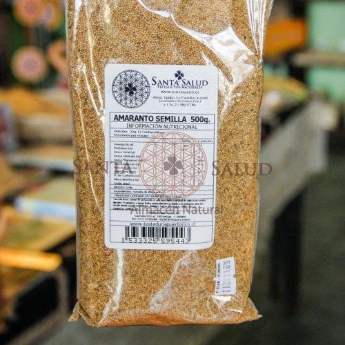 Amaranto semilla 500 g. - Santasalud.cl