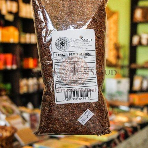 Linaza semilla 500 g. - Santasalud.cl