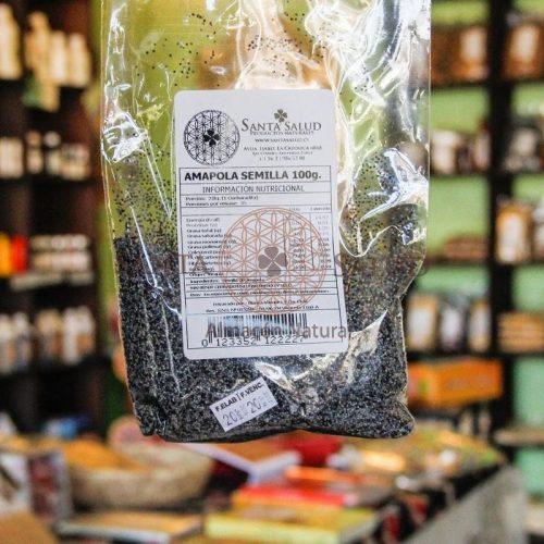 Amapola semillas 100 g. - Santasalud.cl