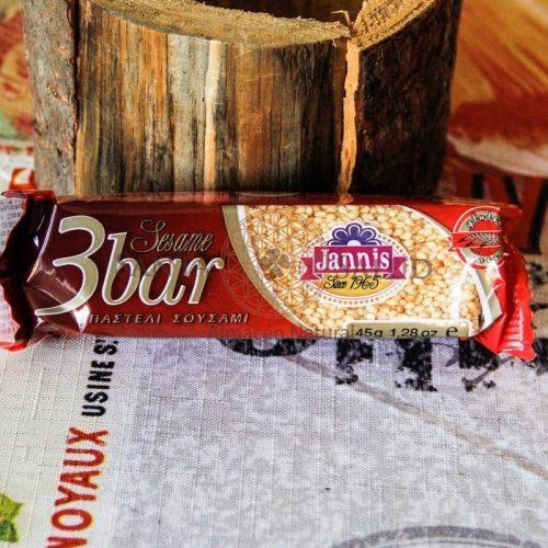 """Barrita Sésamo y Miel 3 Bar """"Janis"""" - Santasalud.cl"""