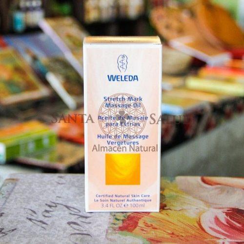 """Aceite de Masaje Para Estrías """"Weleda"""" - Santasalud.cl"""