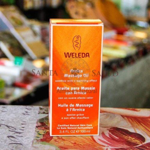 """Aceite para masaje con Árnica """"Weleda"""" - Santasalud.cl"""
