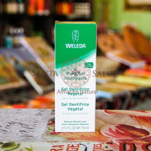 "Gel dentífrico Vegetal ""Weleda"" - Santasalud.cl"
