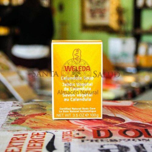 "Jabón Vegetal de Caléndula ""Weleda"" - Santasalud.cl"
