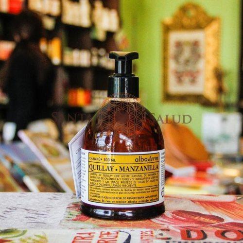"""Shampoo Quillay Manzanilla """"Apícola del Alba"""" - Santasalud.cl"""