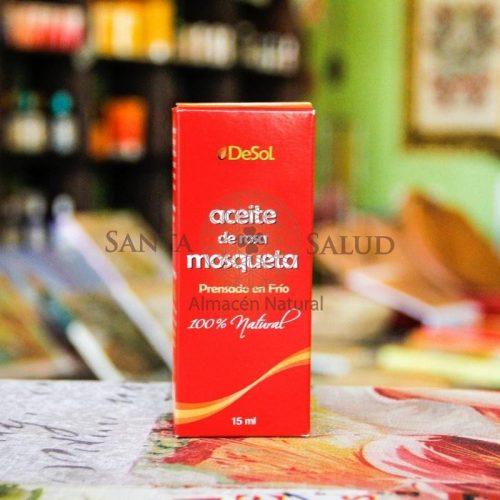 """Aceite de Rosa Mosqueta """"de Sol"""" - Santasalud.cl"""