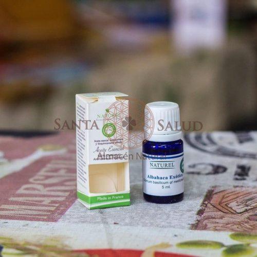 """Aceite esencial labahaca Exótica """"Naturel"""" - Santasalud.cl"""