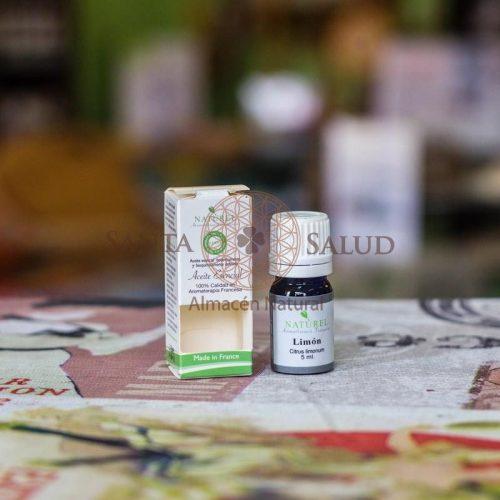 "Aceite esencial Limón Orgánico ""Naturel"" - Santasalud.cl"