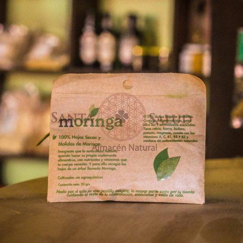 """Moringa """"Dulzura Natural"""" Hojas Secas y Molidas - Santasalud.cl"""