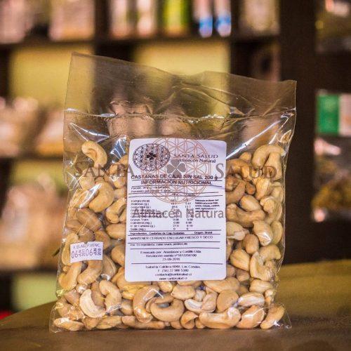 Castañas de Cajú Sin Sal 200 g. - Santasalud.cl