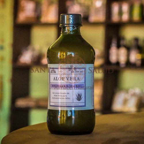 Aloe Vera Con Arándano y Maqui 500 ml. - Santasalud.cl
