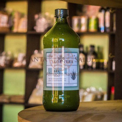 Aloe vera puro 1 litro - Santasalud.cl