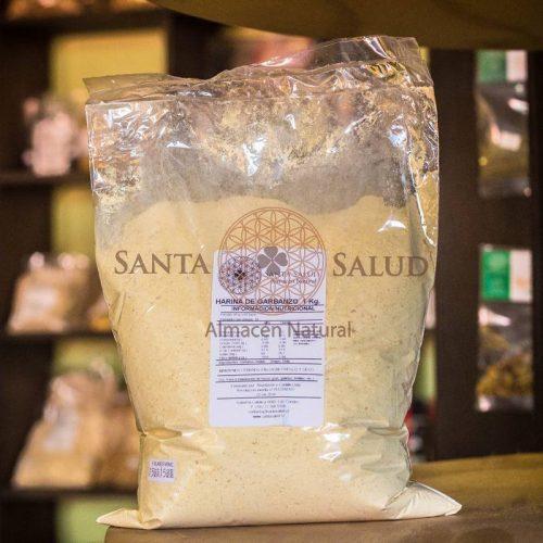 Harina de Garbanzo 1 kilo - Santasalud.cl