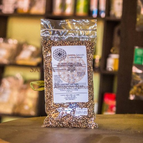 Cilantro semillas 100 g. - Santasalud.cl