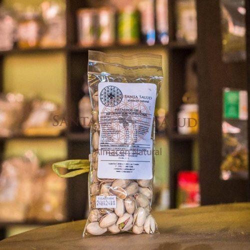 Pistachos con sal 100 g. - Santasalud.cl