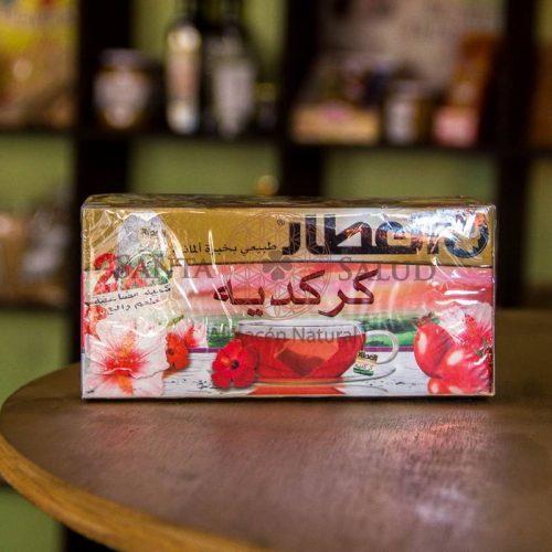 Té de Hibiscus O Flor de Jamaica - Santasalud.cl