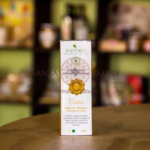 """Aceite para masajes Ventre """"Naturel"""" - Santasalud.cl"""