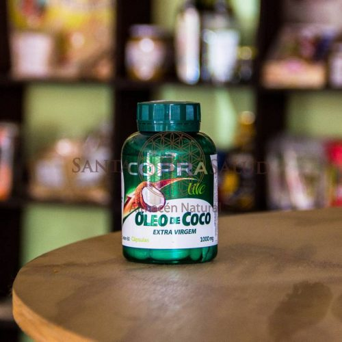 """Cápsulas de Aceite de Coco """"Copra"""" - Santasalud.cl"""