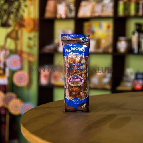 "Barrita almond bar ""Janis"" (almendras) - Santasalud.cl"